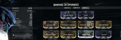 Bansheeconfigf