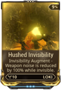 Hushed Invisibility