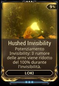 HushedInvisibility
