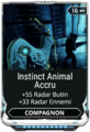 Instinct Animal Accru