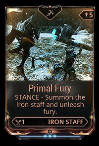 PrimalFuryStance