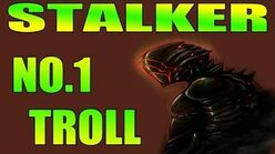 Warframe Stalker is the No1 Troll.