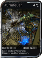 Mod Hydroid Sturmfeuer