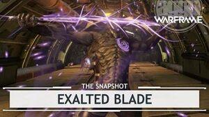 Warframe Excalibur's Exalted Blade thesnapshot