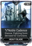 Noble Cadence