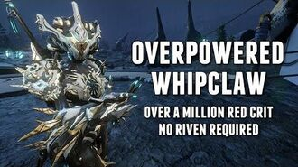 Warframe KHORA'S OVERPOWERED MILLION RED CRIT WHIP NEWLY BUFF WHIPCLAW