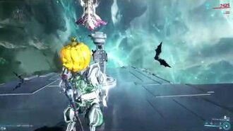Warframe Knell maxed with godly riven vs 20xlvl165 gunner