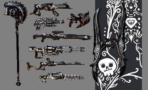 Día De Los Muertos Paquete De Diseños Para Arma Ii Wiki Warframe