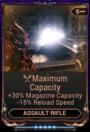 MaximumCapacityMod