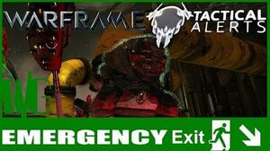 TACTICAL ALERT EMERGENCY EXIT - Warframe Operations Update 16