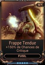 Frappe Tendue