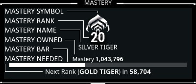 mastery rank 14 warframe