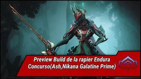 Warframe. Preview build Endura
