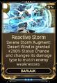 ReactiveStormMod