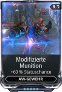 Modifizierte Munition