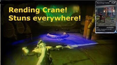 Rending Crane and How to Find it WarFrame