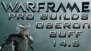Warframe Oberon Buff Pro Builds 1 Forma Update 14