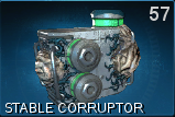 Stable corruptor