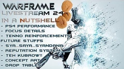 Warframe - Developer Livestream 24 - In A Nutshell