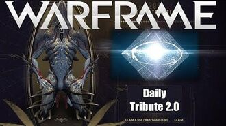 Warframe Daily Tribute 2.0 Update Changes Overview