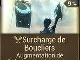 Surcharge de Boucliers