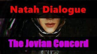 SPOILERS! Jovian Concord Natah Dialogue (Ropalolyst Boss Fight)
