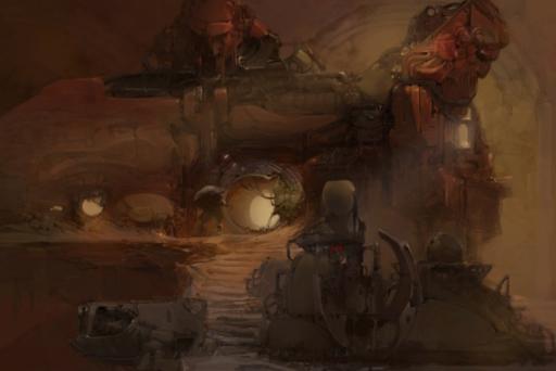Фрагмент Цефалона 12 Поселения на Марсе