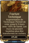 Fracture Tectonique
