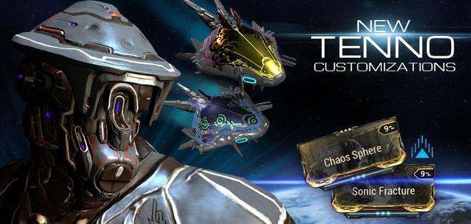 Update 16.6 Tenno Customizations