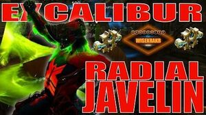 Warframe Builds - EXCALIBUR RADIAL JAVELIN BUILD 2 formas - Update 15