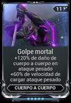 Golpe mortal