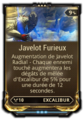 Javelot furieux