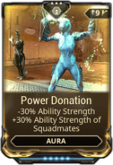 Power Donation