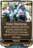 Static Discharge