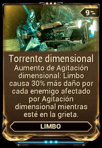Torrente dimensional