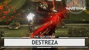 Warframe Destreza, Sword Play at its Best thequickdraw
