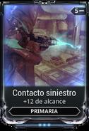 Contacto siniestro