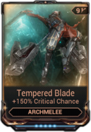 Tempered Blade