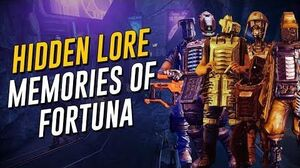 Hidden Lore Memories of Fortuna (Warframe)