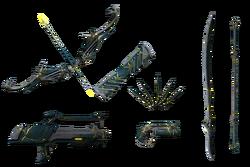 Коллекция скинов оружия Кинцуги вики