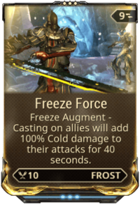 Frost/Abilities | WARFRAME Wiki | FANDOM powered by Wikia