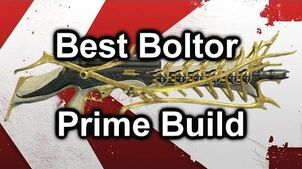 Best Warframe Boltor Prime Pro Build