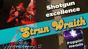 STRUN WRAITH RIVEN BUILD - Highest Status Chance 5 forma - Warframe