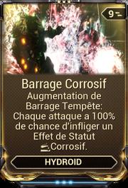 Barrage Corrosif