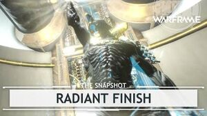 Warframe Syndicates Excalibur's Radiant Finish thesnapshot