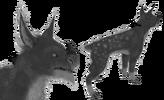 Patrón de piel Nart-Deer