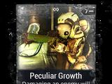 Peculiar Growth
