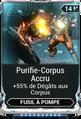 Purifie-Corpus Accru