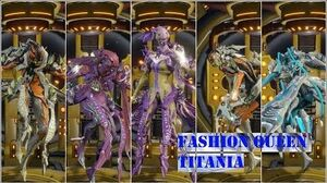 Warframe Fashion Queen Titania