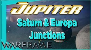 Europa & Saturn Junctions on JUPITER